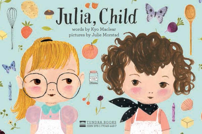 Julia Child recipe card