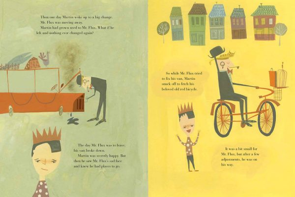 Interior pages from Mr. Flux