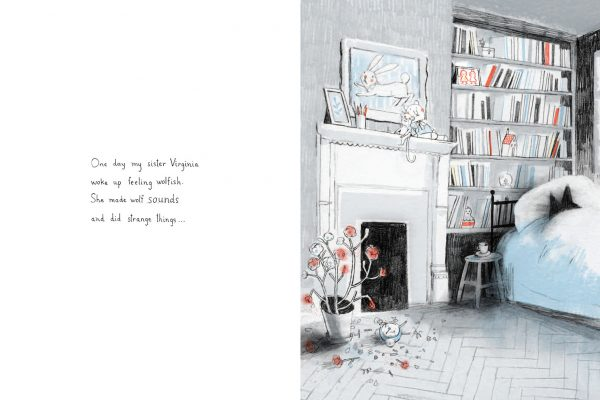 Interior pages from Virginia Wolf