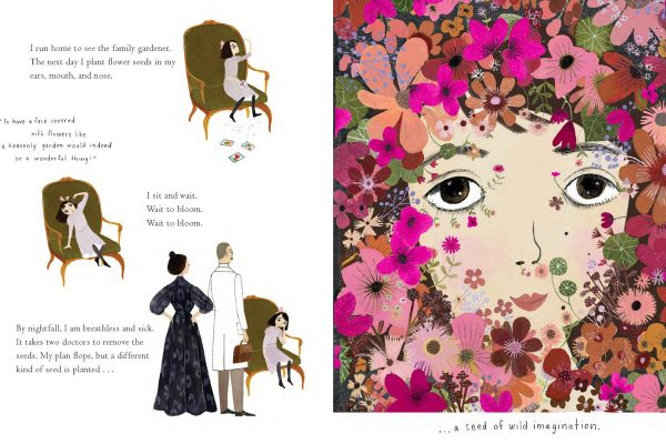 Interior pages from Bloom