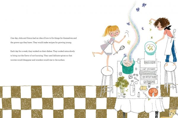 Interior pages from Julia, Child