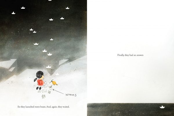 Interior pages from The Fog