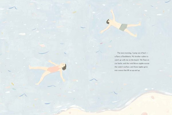 Interior pages from The Specific Ocean